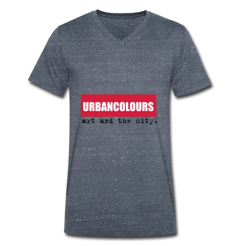 urbancolours - Männer Bio-T-Shirt mit V-Ausschnitt von Stanley & Stella