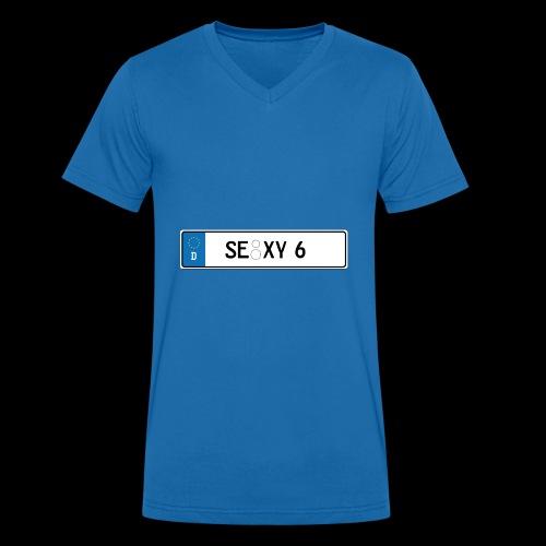 Kennzeichen Sexy - Männer Bio-T-Shirt mit V-Ausschnitt von Stanley & Stella