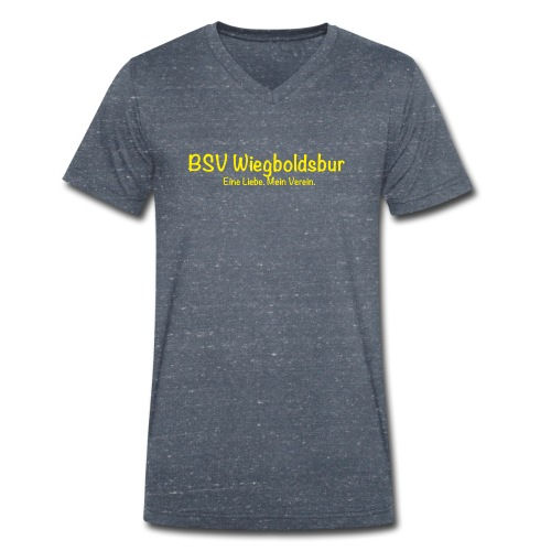 BSV Wiegoldsbur Eine Liebe Mein Verein Gelb - Männer Bio-T-Shirt mit V-Ausschnitt von Stanley & Stella