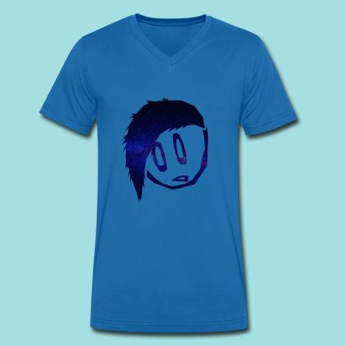BengelB Logo - Männer Bio-T-Shirt mit V-Ausschnitt von Stanley & Stella