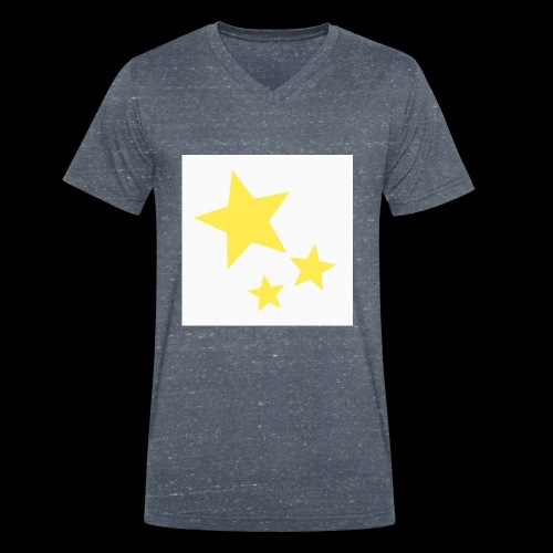 Dazzle Zazzle Stars - Men's Organic V-Neck T-Shirt by Stanley & Stella