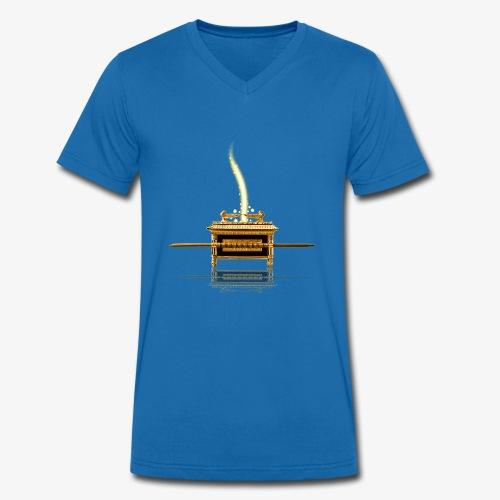 Bundeslade - Männer Bio-T-Shirt mit V-Ausschnitt von Stanley & Stella