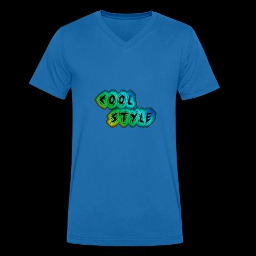 cool style - Männer Bio-T-Shirt mit V-Ausschnitt von Stanley & Stella