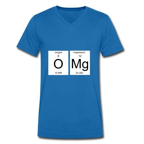 OMG Nerd Geschenk Geschenkidee - Männer Bio-T-Shirt mit V-Ausschnitt von Stanley & Stella