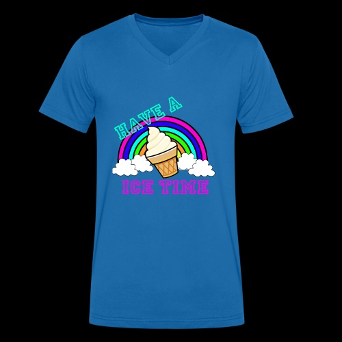 have ice time - T-shirt bio col V Stanley & Stella Homme