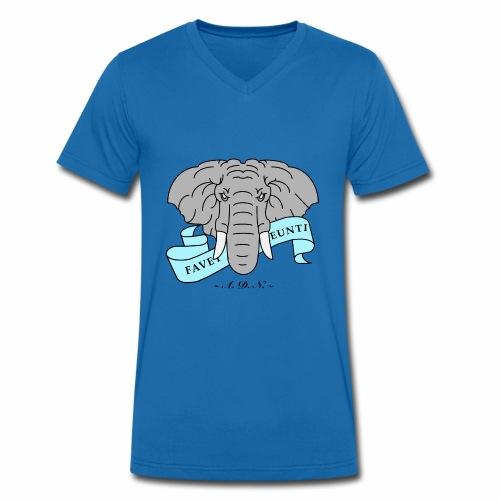 Elephant de Nantes - T-shirt bio col V Stanley & Stella Homme