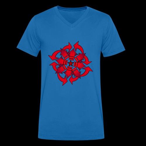 Chaos sphere - Men's Organic V-Neck T-Shirt by Stanley & Stella