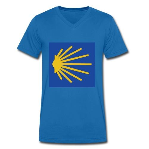 Muschel Wegweiser - Männer Bio-T-Shirt mit V-Ausschnitt von Stanley & Stella