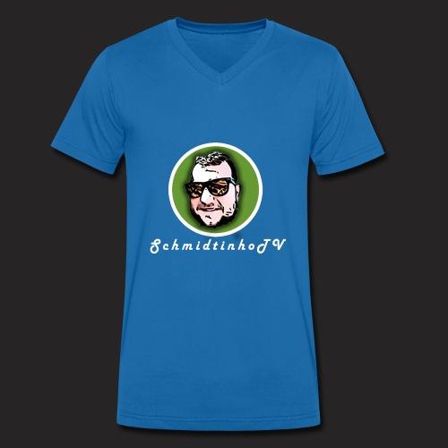 SchmidtinhoTV - Männer Bio-T-Shirt mit V-Ausschnitt von Stanley & Stella