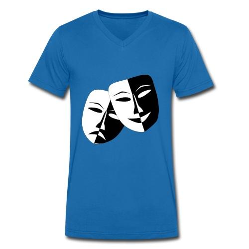 Maske Geschenk Idee - Männer Bio-T-Shirt mit V-Ausschnitt von Stanley & Stella