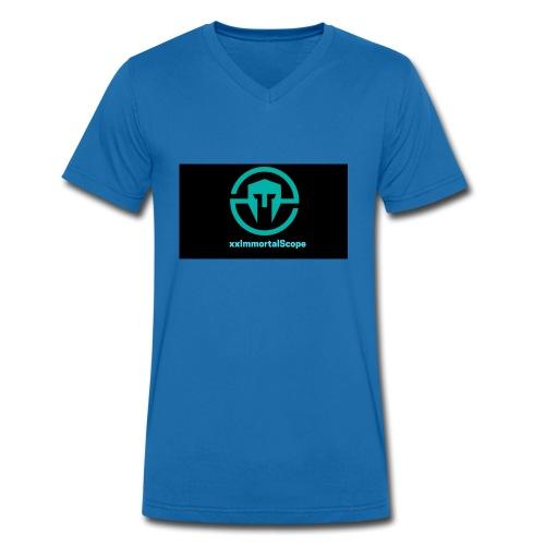 xxImmortalScope throwback - Men's Organic V-Neck T-Shirt by Stanley & Stella