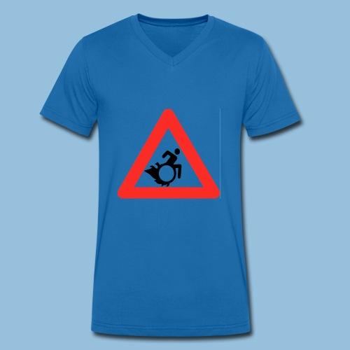 Pasopwheelchair2 - Mannen bio T-shirt met V-hals van Stanley & Stella