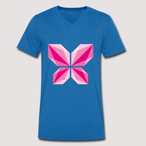 DDD Butterfly - Männer Bio-T-Shirt mit V-Ausschnitt von Stanley & Stella