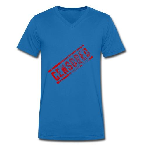 Censored - Männer Bio-T-Shirt mit V-Ausschnitt von Stanley & Stella