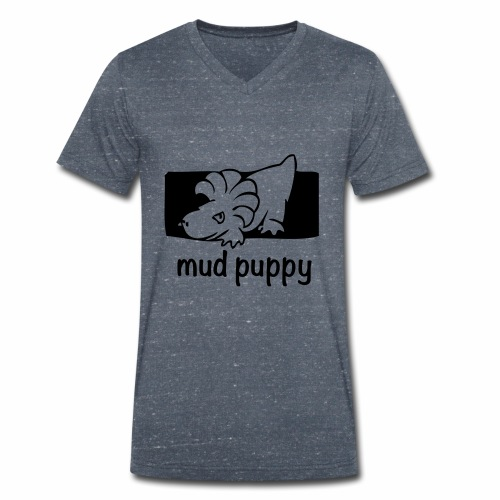 Are you a Mud Puppy? - Men's Organic V-Neck T-Shirt by Stanley & Stella