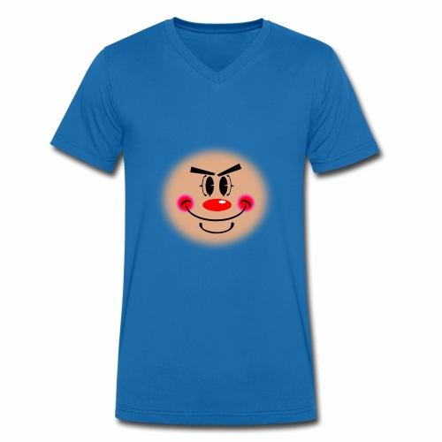 Silly Clown - T-shirt ecologica da uomo con scollo a V di Stanley & Stella