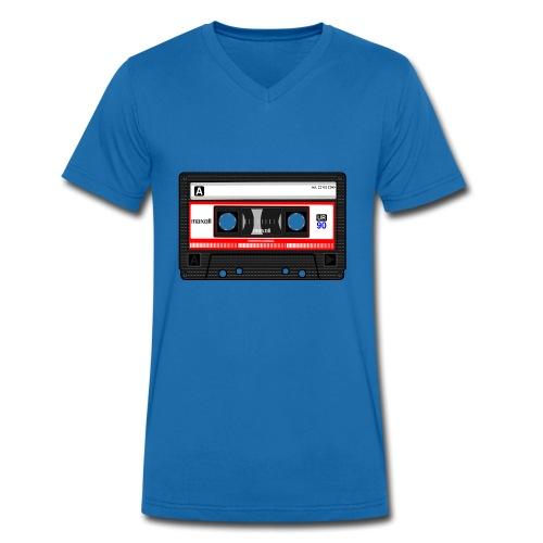 Compact Cassette Tape denola - Männer Bio-T-Shirt mit V-Ausschnitt von Stanley & Stella
