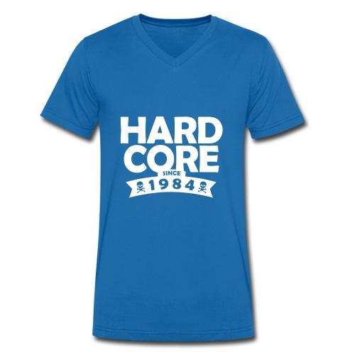 hard core since 1984 - Männer Bio-T-Shirt mit V-Ausschnitt von Stanley & Stella