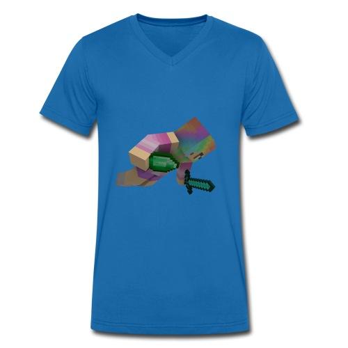 fallande bubblav - Ekologisk T-shirt med V-ringning herr från Stanley & Stella