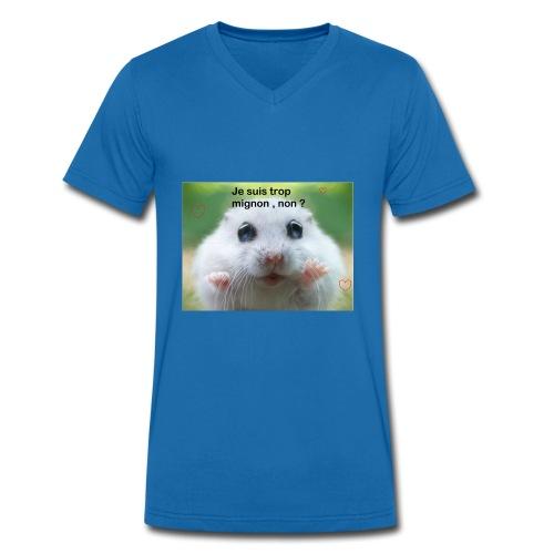 Animal trop mignon - T-shirt bio col V Stanley & Stella Homme