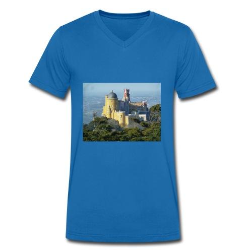 Schloss - Männer Bio-T-Shirt mit V-Ausschnitt von Stanley & Stella