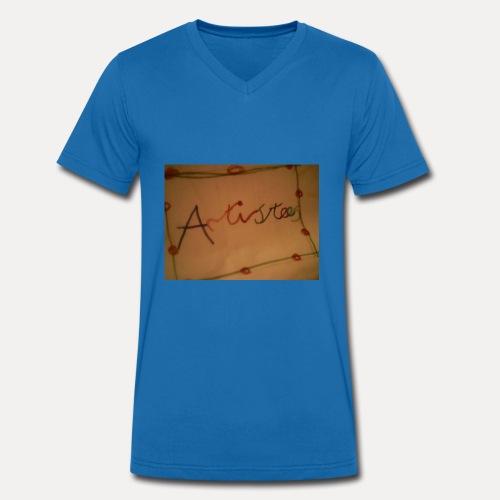 Artistees - Men's Organic V-Neck T-Shirt by Stanley & Stella
