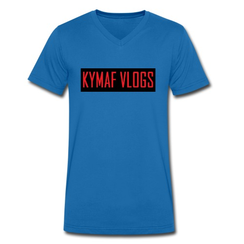 Original Kymaf Vlogs Shirt - Men's Organic V-Neck T-Shirt by Stanley & Stella