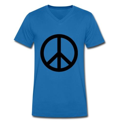 Peace - Männer Bio-T-Shirt mit V-Ausschnitt von Stanley & Stella