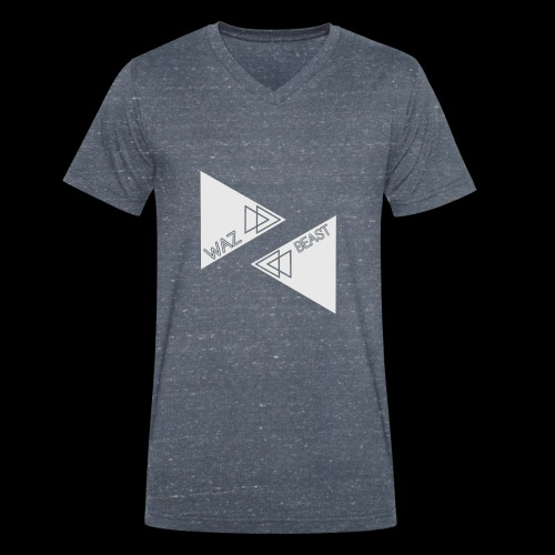 Waz_BEAST - Men's Organic V-Neck T-Shirt by Stanley & Stella