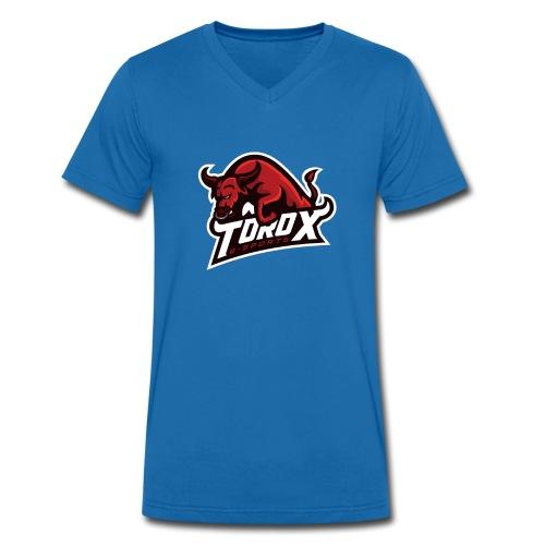 ToroX Standart Logo - Männer Bio-T-Shirt mit V-Ausschnitt von Stanley & Stella