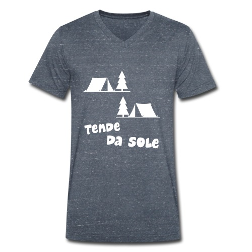 tende - T-shirt ecologica da uomo con scollo a V di Stanley & Stella