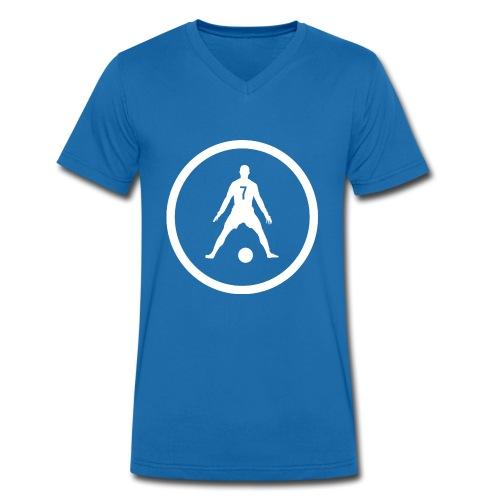 Rug nummer zeven - Männer Bio-T-Shirt mit V-Ausschnitt von Stanley & Stella