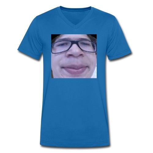 Helekopeter meme - Økologisk T-skjorte med V-hals for menn fra Stanley & Stella