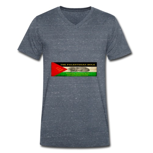 The Palestinian Mole - Men's Organic V-Neck T-Shirt by Stanley & Stella