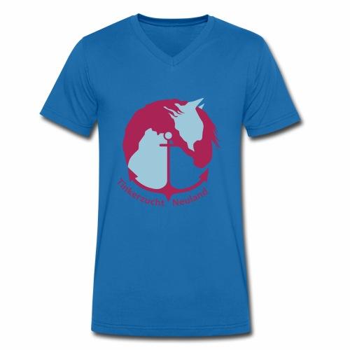 Tinkerzucht Neuland - Männer Bio-T-Shirt mit V-Ausschnitt von Stanley & Stella