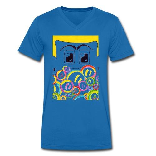 Seifenblasen Junge - Männer Bio-T-Shirt mit V-Ausschnitt von Stanley & Stella