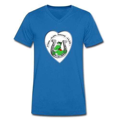 cheval comic FS - T-shirt bio col V Stanley & Stella Homme