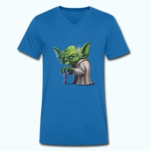 Little Gnome - Men's Organic V-Neck T-Shirt by Stanley & Stella