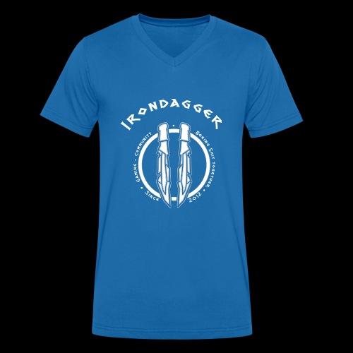 Iron Dagger Modern - Männer Bio-T-Shirt mit V-Ausschnitt von Stanley & Stella