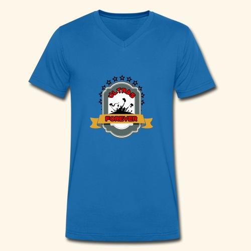 Logopit 1528488757728 - Männer Bio-T-Shirt mit V-Ausschnitt von Stanley & Stella