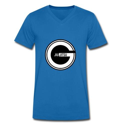 Godalmingbjjlog1 - Men's Organic V-Neck T-Shirt by Stanley & Stella