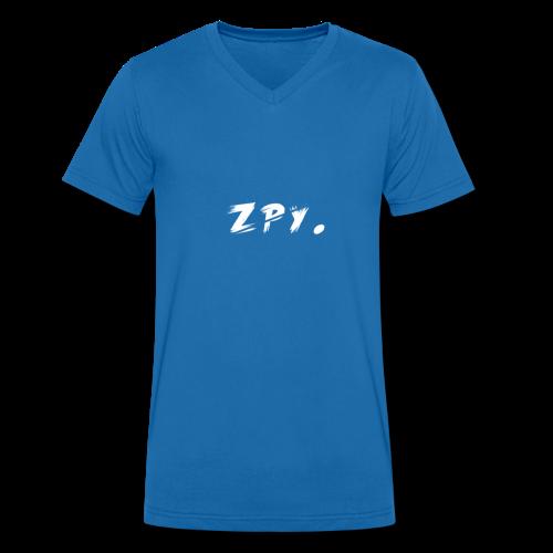 Zapy - Männer Bio-T-Shirt mit V-Ausschnitt von Stanley & Stella