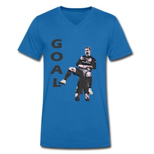 GOAL!! - T-shirt bio col V Stanley & Stella Homme