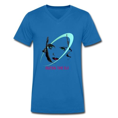 DIVBLESS - T-shirt ecologica da uomo con scollo a V di Stanley & Stella