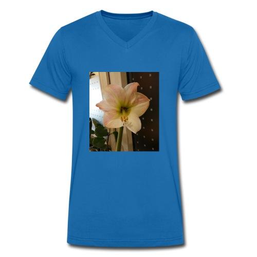Amaryllis - Männer Bio-T-Shirt mit V-Ausschnitt von Stanley & Stella