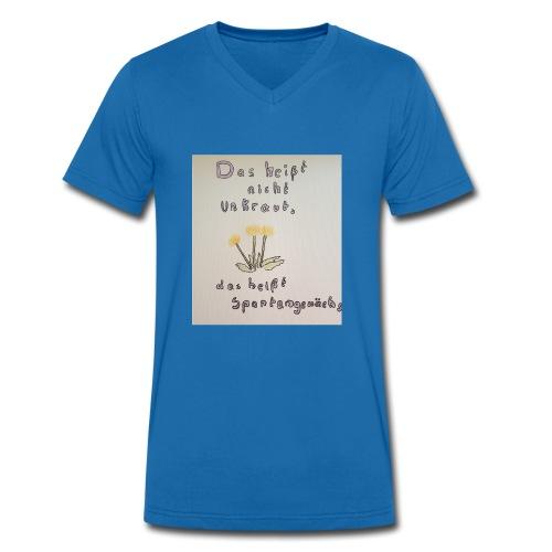 spontangewaechs - Männer Bio-T-Shirt mit V-Ausschnitt von Stanley & Stella