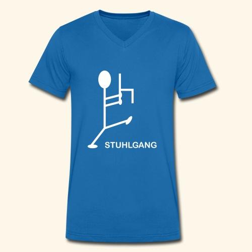 Stuhlgang - Männer Bio-T-Shirt mit V-Ausschnitt von Stanley & Stella