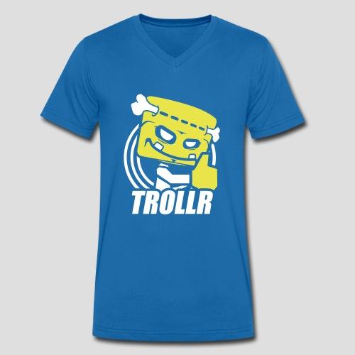 TROLLR Like - T-shirt bio col V Stanley & Stella Homme