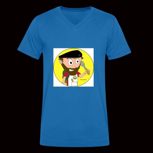 r svg - T-shirt bio col V Stanley & Stella Homme