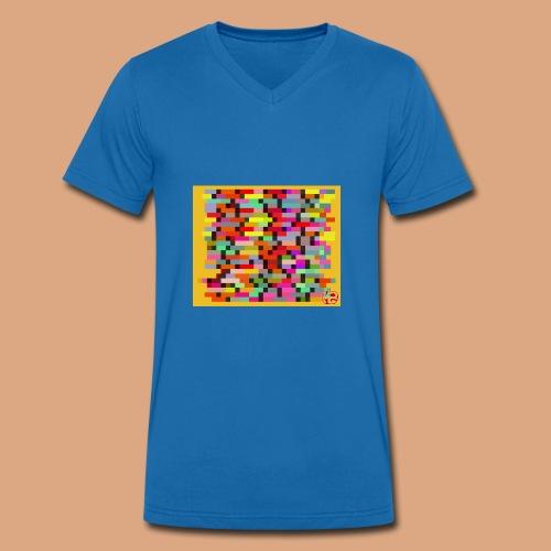 Vita - T-shirt ecologica da uomo con scollo a V di Stanley & Stella
